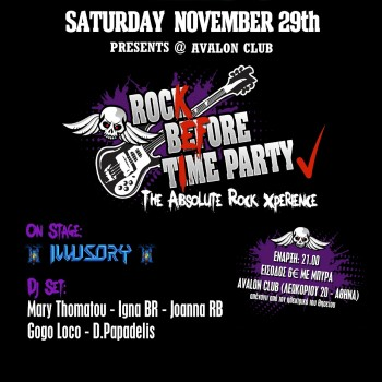 Rock before Time PARTY!!!