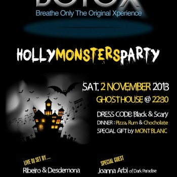 Holy Monsters Party by BotoX Radio…!!