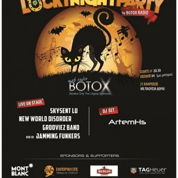 Lucky Night Party by BotoX Radio!!!