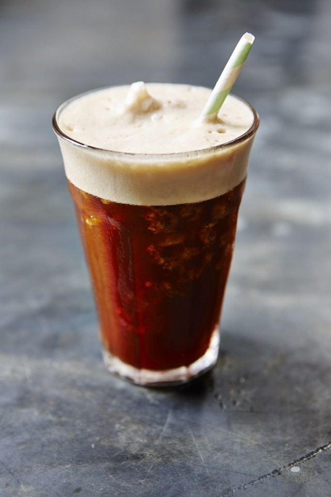 Coffee greek frapee