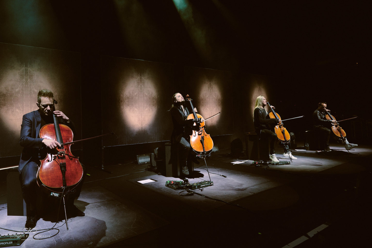 Apocalyptica live in Athens at Gazi
